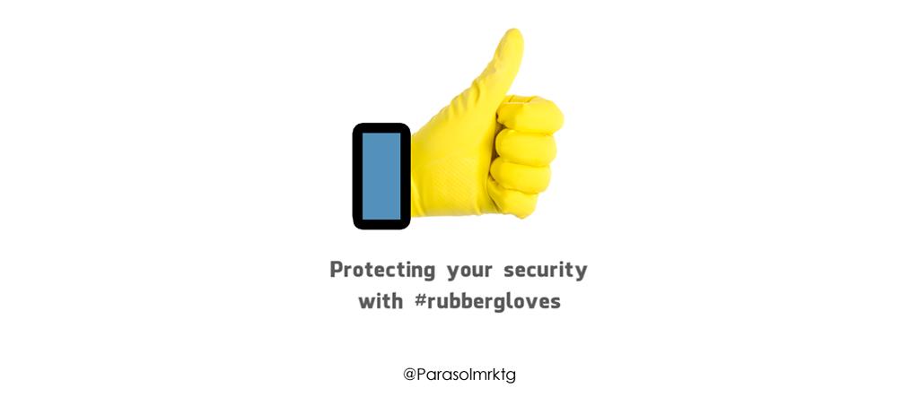 #rubbergloves