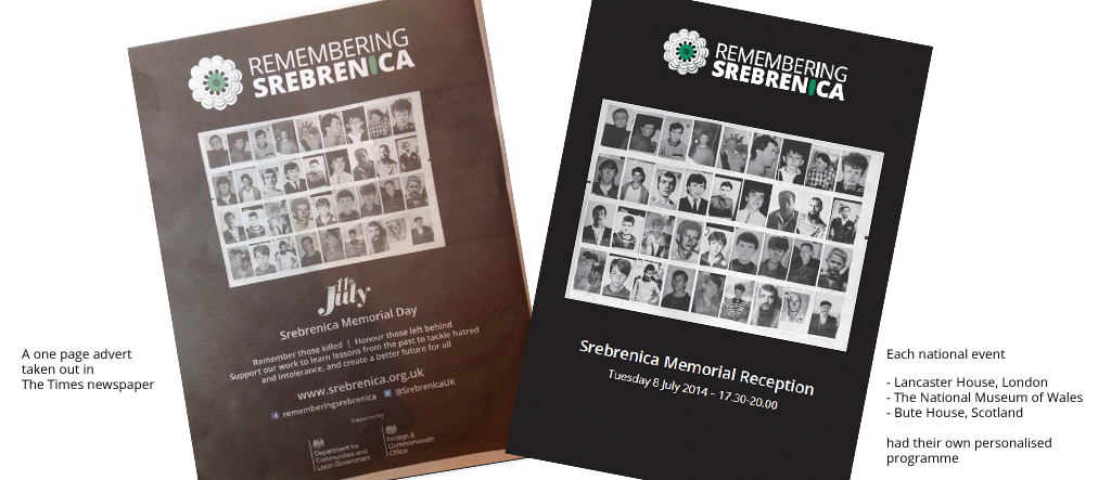 Remembering Srebrenica case study