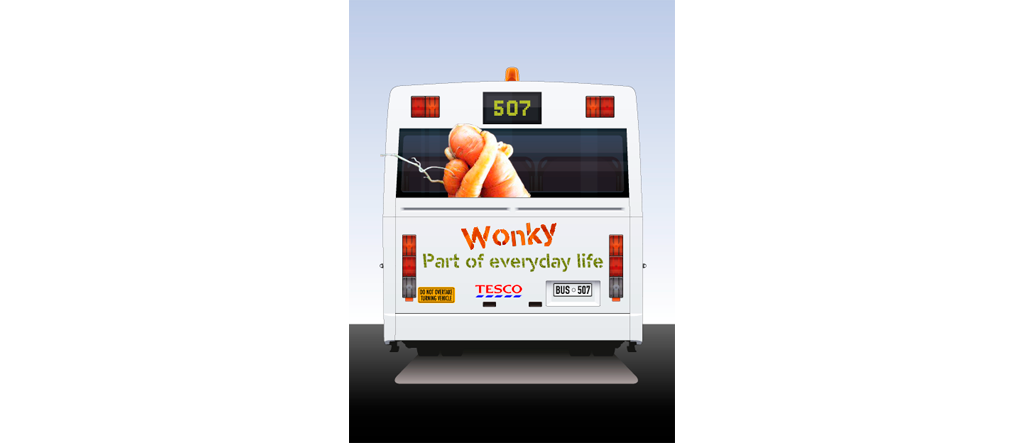 TESCO – Wonky veg
